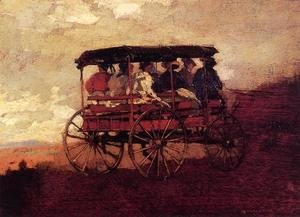 Winslow Homer - White Mountain Wagon