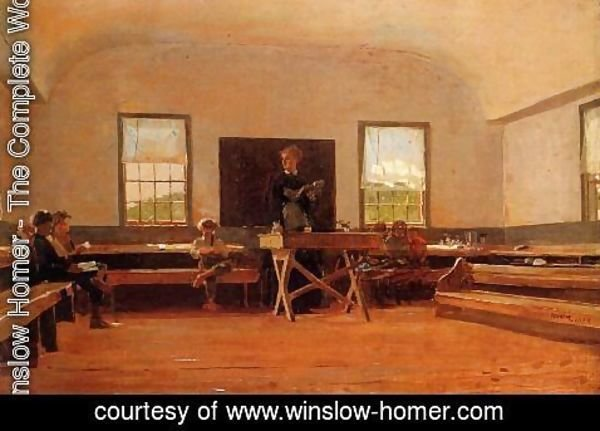 Winslow Homer - Country School