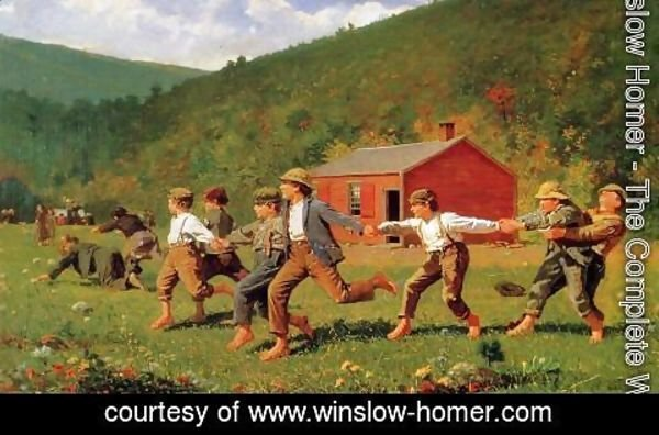 Winslow Homer - Snap the Whip I