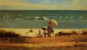 Winslow Homer - On the Beach, Marshfield