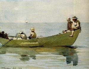 Winslow Homer - Seven Boys in a Dory