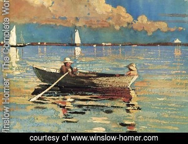 Winslow Homer - Cloucester Harbor