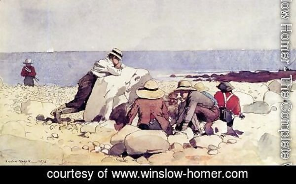 Winslow Homer - A Clam Bake
