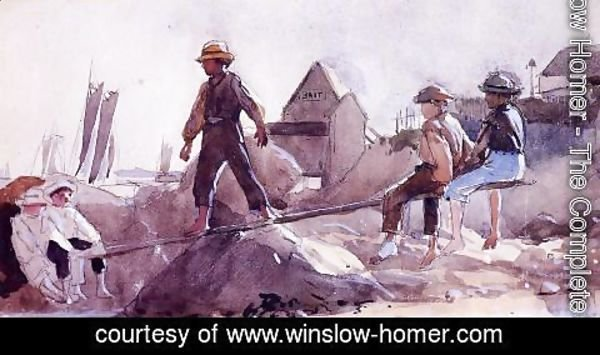 Winslow Homer - The See-Saw
