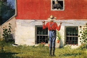 Winslow Homer - Rustic Courtship