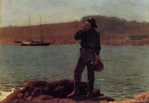 Winslow Homer - Calling the Pilot
