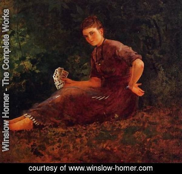 Winslow Homer - Shall I Tell Your Fortune?