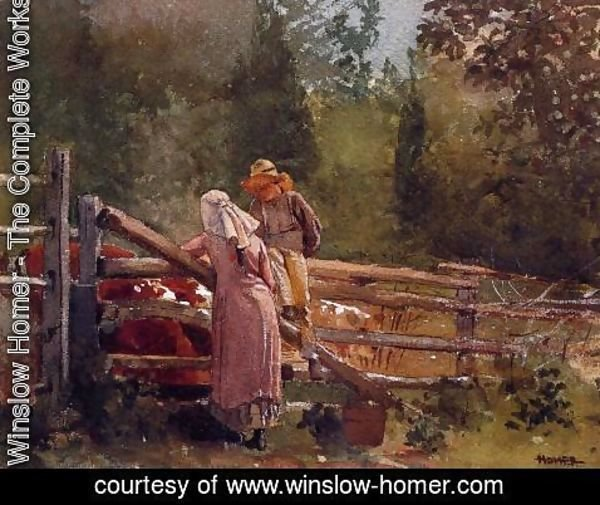 Winslow Homer - Feeding Time