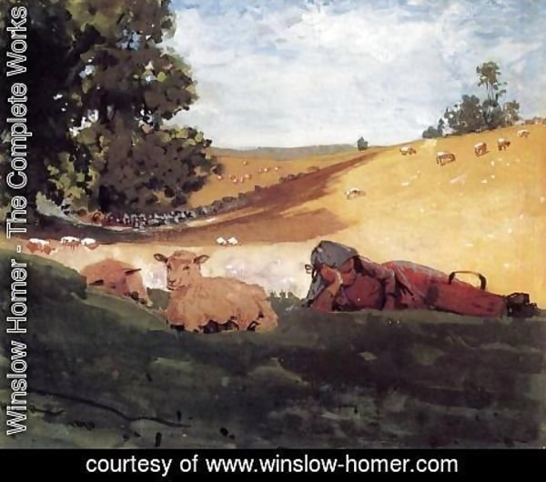 Winslow Homer - Warm Afternoon