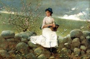 Winslow Homer - Peach Blossoms I