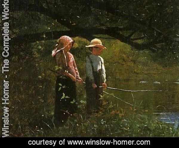 Winslow Homer - Fishing
