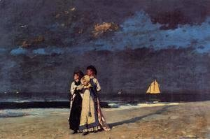 Winslow Homer - Promenade on the Beach
