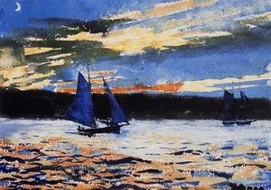 Winslow Homer - Gloucester Sunset