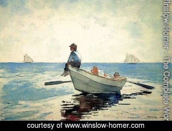 Winslow Homer - Boys in a Dory I