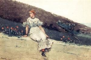 Winslow Homer - The Garden Wall