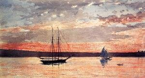Winslow Homer - Sunset at Gloucester
