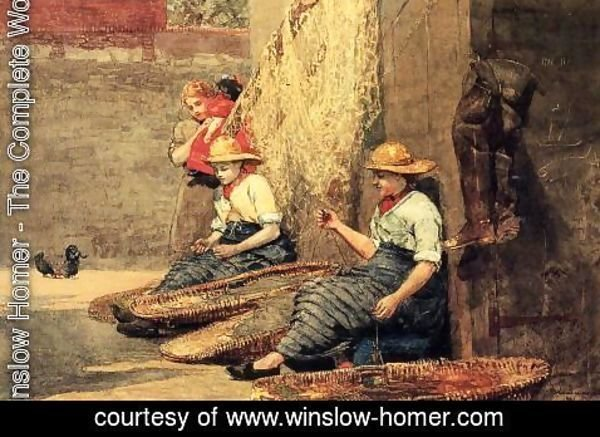 Winslow Homer - Fishergirls