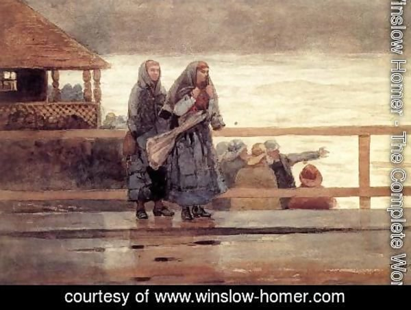 Winslow Homer - Perils of the Sea