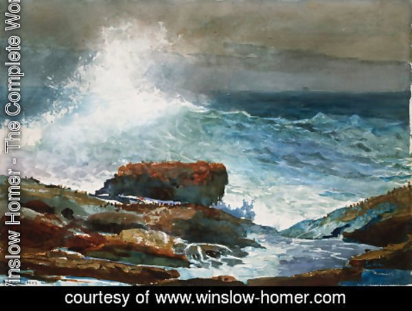 Winslow Homer - Incoming Tide