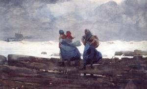 Winslow Homer - Fisherwives