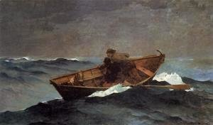 Winslow Homer - Lost on the Grand Banks