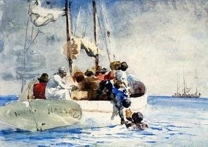 Winslow Homer - Sponge Fishing