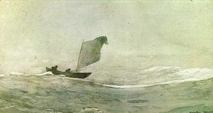 Winslow Homer - Blown Away