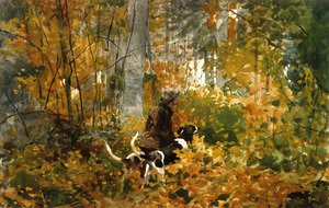 Winslow Homer - On the Trail