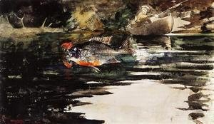 Winslow Homer - An Unexpected Catch