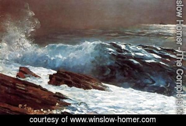 Winslow Homer - Sunlight on the Coast