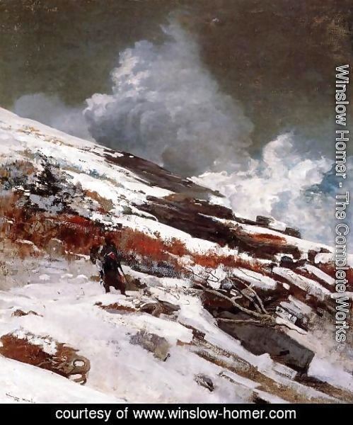Winslow Homer - Winter Coast