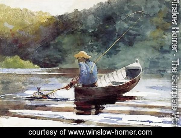 Winslow Homer - Boy Fishing