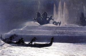 Winslow Homer - The Fountains at Night, World's Columbian Exposition