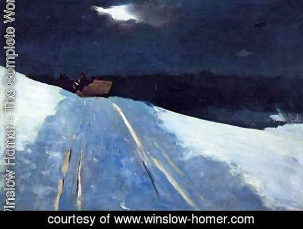 Winslow Homer - Sleigh Ride