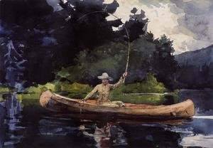 Winslow Homer - Playing Him