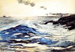 Winslow Homer - Sunset, Prout's Neck