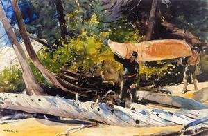 Winslow Homer - End of the Portage