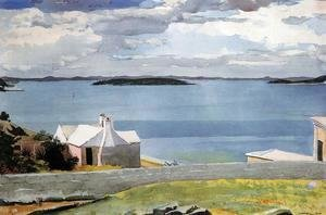 Winslow Homer - Inland Water, Bermuda