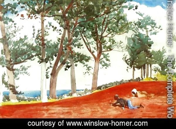 Winslow Homer - House and Trees