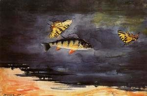 Winslow Homer - Fish and Butterflies