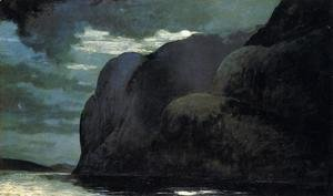 Winslow Homer - Cape Trinity, Saguenay River