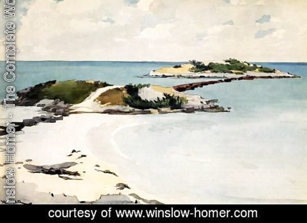 Winslow Homer - Gallow's Island, Bermuda