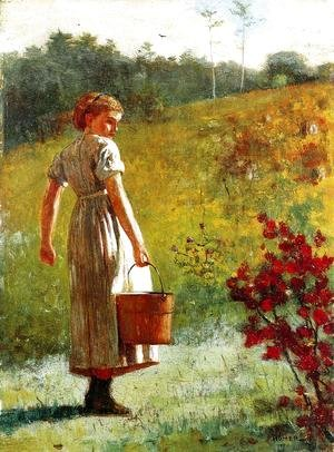 Winslow Homer - Returning from the Spring