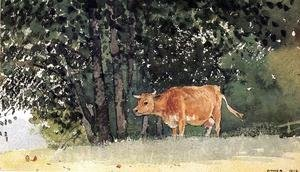 Winslow Homer - Cow in Pasture