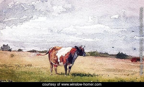 Landscape with Cow