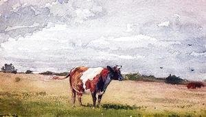 Winslow Homer - Landscape with Cow