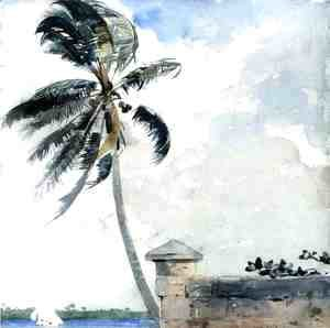 Winslow Homer - A Tropical Breeze, Nassau
