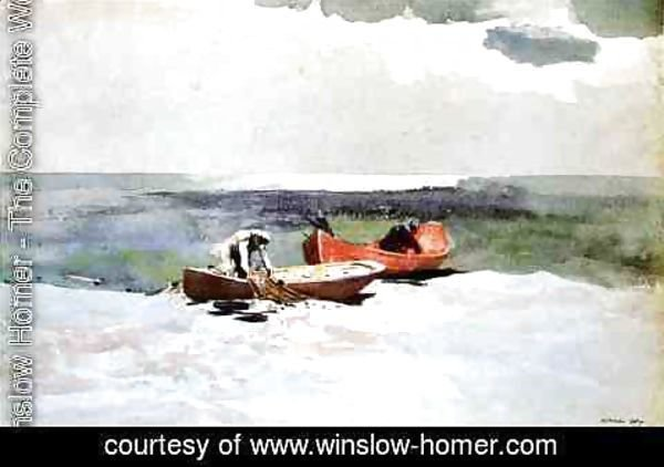 Winslow Homer - Deep Sea Fishing
