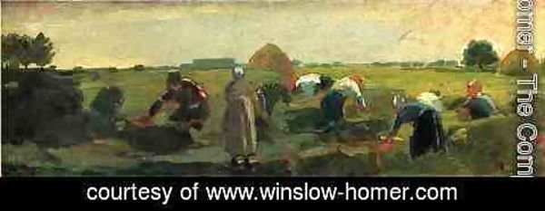 Winslow Homer - The Gleaners
