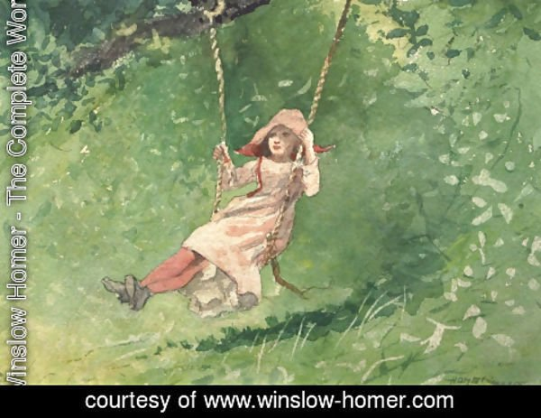 Winslow Homer - Girl on a Swing